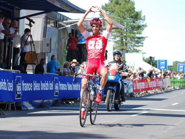 Etape 1: Romain Guyot sur le final